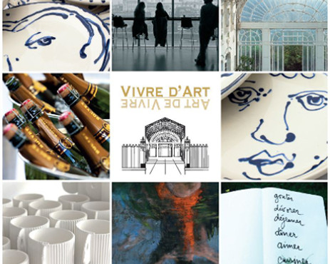 Vivre d'art invitation diapo
